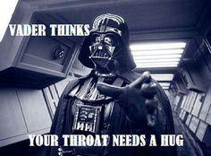 Vader thinks