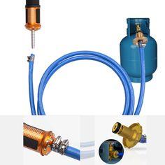 Electronic Ignition Liquefied Gas Welding Gun Torch Kit™ with Hose Welding Gun, Welding Torch, Welding Jobs, Build A Coffee Table, Metal Tools, Metal Art, Diy Fan, Brazing, Fuel Gas