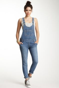 Washed Denim Overall | Them, Dr. who and I love