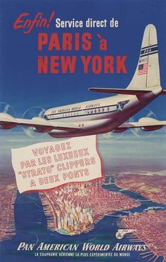 Pan Am - Paris à New York -