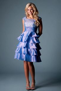 Modest Dress- Latter-Day Bride