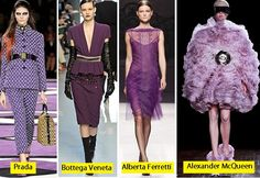 As grandes tendências do Outono-Inverno 2013 - Projeto Moda Tendencia Roxa