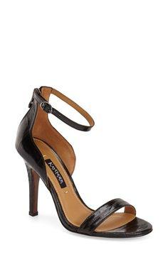 d5876ff209c Kay Unger  Mandie  Ankle Strap Sandal (Women) Kay Unger