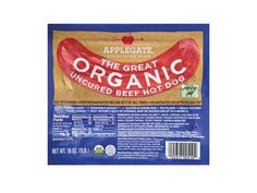Applegate Farm's The Great Organic beef hot dog is one of Prevention's 100 Cleanest Packaged Foods. Our hats go off to a hot dog whose ingredient list doesn't make us cringe.