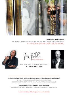 "Steve Kaufman Paintings Shine in ""Steve and Me:  Pop Art Meets Reflection Art Photography"" a Visual Interpretation by Nik Pichler"