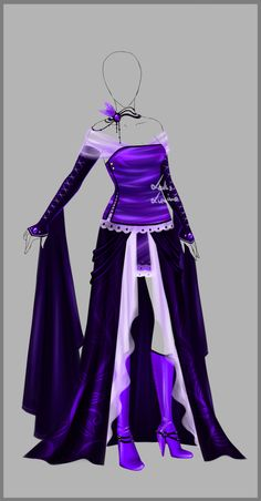 Outfit design - 76 - closed by LotusLumino.deviantart.com on @deviantART