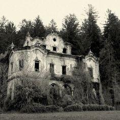 Abandoned -dark and gloomy