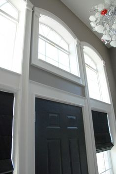 How to Install Molding and Trim on Arched Windows | The Rozy Home featured on #Remodelaholic