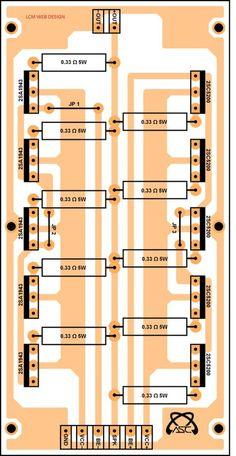 High Power 2200w Amplifier Circuit Transistor Amplifier Audio