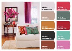 Paint colors from Chip It! by Sherwin-Williams Rose Mauve, Pink And Green, Purple, Abalone Shell, Color Inspiration, Future House, Enchanted, Interior And Exterior, Charts
