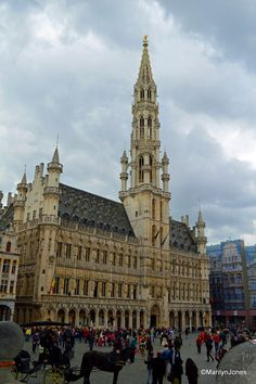 The magnificent Brussels Town Hall.