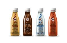 Cold Brew Natural Coffee Energy Shots on Packaging of the World - Creative Package Design Gallery