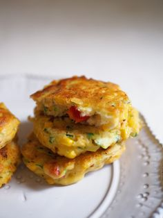 Ricotta and Vegetable Fritters Recipe - Fat Mum Slim Baby Food Recipes, Meat Recipes, Low Carb Recipes, Snack Recipes, Cooking Recipes, Quiche Recipes, Healthy Recipes, Cheese Recipes, Appetizer Recipes