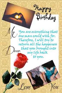 Craft a personalized birthday letter for girlfriend with birthday wishes.Add Text,pics,colors and more. Romantic Letters For Girlfriend, Birthday Letter For Girlfriend, Surprise Your Girlfriend, Letters To Boyfriend, Birthday Letters, Birthday For Him, Very Happy Birthday, Birthday Messages, Boyfriend Birthday