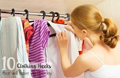 10 CLOTHING HACKS THAT WILL SAVE YOU MONEY  Remove yellow armpit stains and other tips 