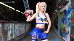Lollipop Chainsaw with @ria_fend in #cosplay by @blacksheeplatex on a shoot by @marcustphoto #MakeUp by @stregacraft and #chainsaw #prop by @howker  - #model #sexygeek #gamer #altmodel #blonde #gamergirl  #riafend  #latexcosplay #humpday #sexy #cheerleader #latex #latexfashion #latexmodel #latexfetish #model #rubber #rubberfashion #altmodel #fetishfashion #rubbermodel #rubberfetish #latexfashiontv #LFTV #fetishmodel #latexdress #rubberdress #blacksheeplatex #latexcosplay