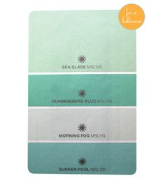Paint color sea glass by martha stewart for the home for Martha stewart glass paint colors
