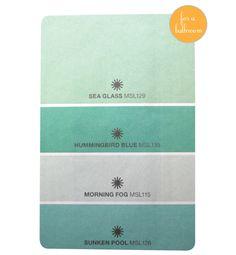 Paint Color Sea Glass By Martha Stewart For The Home Random Pinterest Paint Colors