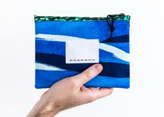 Van Gogh - zipper bag medium - blue thunderclouds   Droog − a different perspective on design