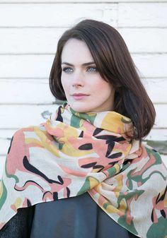 Yarnz ~ Camo Heels   #cashmere #style #fashion #scarf #boutique #women #womensfashion #pattern #scarves