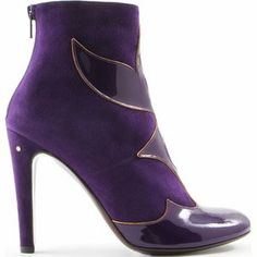 From origi-pin  Laurence Dacade suede-and-patent boot (link not verified) d30402459033