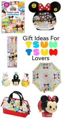 Join the craze that began in Japan! I'm obsessed with Tsum Tsum - if you are too or know someone that is, you'll want one or more of these cute gifts.