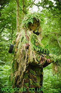 Sniper Experience at Woodoak Wilderness, Surrey, England UK www.woodoak.co.uk