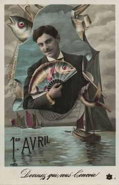 The Daily Postcard: Poisson d'Avril