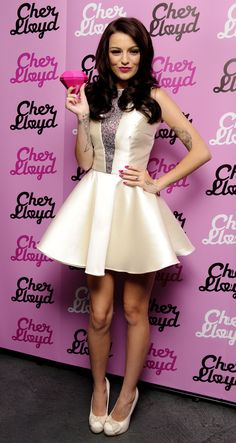 Cher Lloyd and her dress! Britney Spears, Celebrity Gallery, Celebrity Style, Lloyd Singer, Cheryl Cole, Cher Lloyd, Fashion And Beauty Tips, Celebs, Celebrities