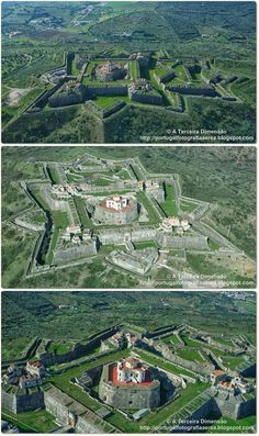 Photos from posts Beautiful Castles, Beautiful Places, The Places Youll Go, Places To Visit, Star Fort, Château Fort, Walled City, Fortification, Medieval Castle