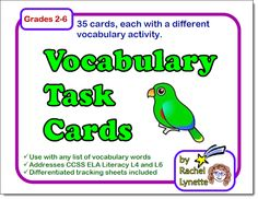 List Of Vocabulary Words, Vocabulary Activities, Teacher Resources, Teaching Ideas, Teaching Strategies, Teaching Science, Teaching Tools, Word Study, Word Work