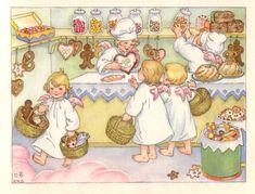 Weihnachtsengelein 1954 Hanna Helwig www. Christmas Angels, Vintage Christmas, Christmas Diy, Christmas Cards, Snowmen At Night, Winter Illustration, Paper Birds, Cute Penguins, Jingle All The Way