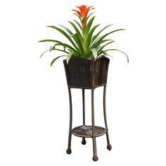 Jeco Patio Planter Stand & Reviews | Wayfair