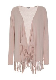 830715 – Savanna Cardigan with tassels - Rose