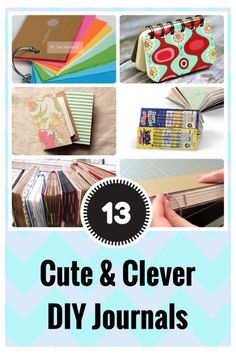 There are tons of great ways to construct a journal that inspires creativity. These are some incredibly cute DIY journal ideas and tutorials you will love! 1. Mini Cereal Box Journals How cute is this? You know those tiny cereal boxes you get for the kids when a bunch of friends sleep over? Yes, those…made …