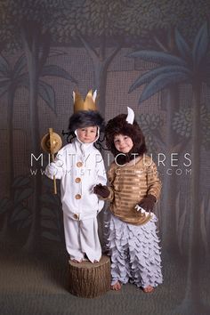 DIY where the wild things are costumes