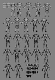 Tutorials Images for Characters Modeling