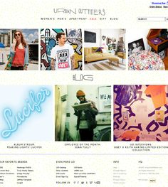 Urban Outfitters - Hipster Shop - Hipster Related Website