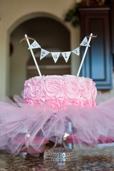 "The Sweatman Family: ""Tutu Thrilled"" Baby Shower {Details} Ballerina Cupcakes, Ballerina Birthday Parties, Ballerina Party, Tutu Birthday Cake, 2nd Birthday, Girl Shower Cake, Baby Boy Shower, Baby Shower Girl Cupcakes, Tortas Baby Shower Niña"