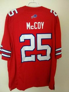 8a0e63f0a85 LeSean McCoy Buffalo Bills Nike Color Rush jersey XXL 2XL sewn red #Nike # BuffaloBills