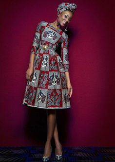 The African print - from tradition to fashion %%page%% - Architecture E-zine African Formal Dress, African Dress, African Print Skirt, African Print Dresses, Spring Fashion Outfits, Printed Skirts, Printed Shoes, Africa Fashion, Mid Length Dresses