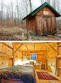 Bethlehem, CT, USA. We have a great Post & Beam Barn with bed and loft - the perfect space for up to four people. During the winter It's a bit cold as there is no heat, but if you like camping in the winter, the space is dry and has power and very peaceful. Our house is 75 feet away where you can use the bathroom and kitchen.