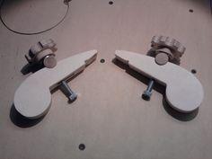 ...verstellbare Schnellspanner... Bauanleitung zum selber bauen