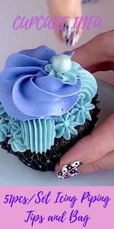 Cupcake Piping, Buttercream Cupcakes, Piping Icing, Piping Tips, Cupcake Cakes, Rose Frosting, Car Cakes, Frosting Tips, Cupcake Decorating Tips
