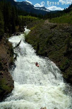 Lower super slide on Oh'b Joyfull Creek near Crested Butte, CO