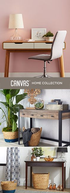 Get inspired by our new furniture and home accessories for Spring. #MyCANVASstyle