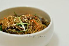 Korean Stir-Fried Vermicelli, Japchae