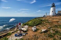 Pemaquid Point Lighthouse, Bristol Maine