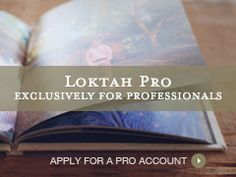 Loktah Albums. Exclusively for Professionals. Get a Pro Account.