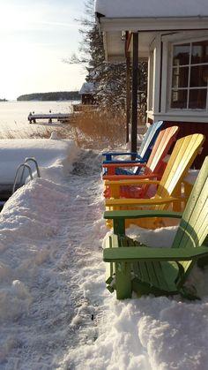 Ecogodis på bryggan  #utemöbler #sommar #vinter #vår #höst #uterum #bryggan #gardyes #caraff